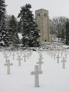 Aisne-Marne American Military Cemetery in France