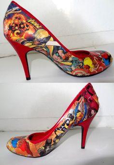 10 Fantastic Pairs Of Comic Book Heels