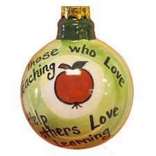 ornament idea, teacher gift, ornament 1198, teacher ornament