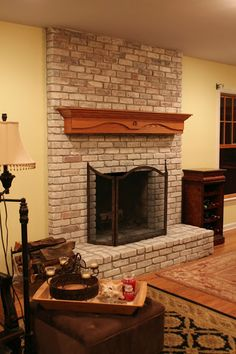 How To Paint a Brick Fireplace by Monk's- Basking Ridge, NJ 07920 - Monk's Home Improvements in New Jersey
