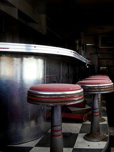 Route 66 - Deserted Diner