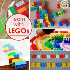 ideas of ways to learn with legos