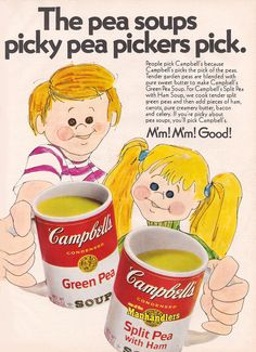 Food advertising from 1971