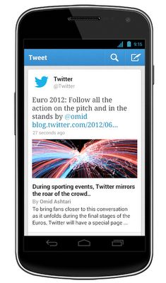 Twitter App Updated For iOS and Android, Brings Content Previews and Updated Notifactions
