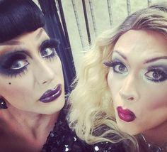 Bianca Del Rio and Joslyn Fox