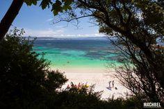 Playa de Área dos Cans Isla de Ons Parque Nacional de las Islas Atlánticas Galicia by machbel
