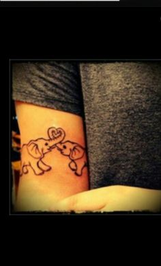 Mother & Child tattoo