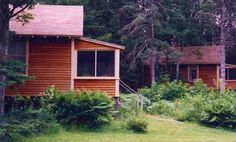 Waterfront Cottage Rental in Bar Harbor Maine at Woodland Park Cottages