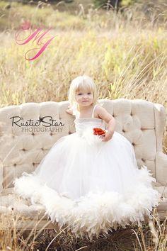 Forever Dreams Flower Girl Dress. $178.00, via Etsy.