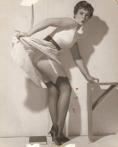 Gil Elvgren and his muse.