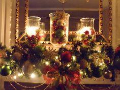traditional christmas, fireplac, christmas holidays, decorating ideas, christmas decorations, christma decor, mantel decorations, christmas mantles, christmas mantels