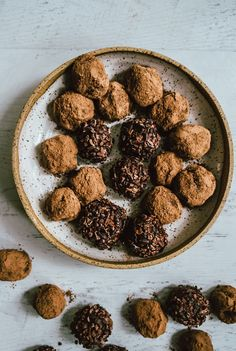 Adaptogenic Chocolate Hazelnut Truffles