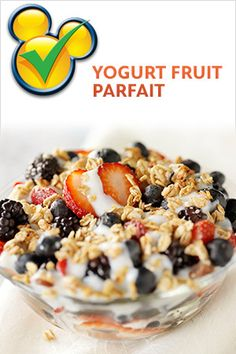 Recipes - Yogurt Fruit Parfait