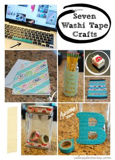 Seven Easy Washi Tape Crafts with Scotch Expressions