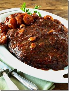 Beef Brisket (in the oven)