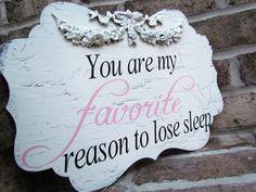 Favorite Reason to lose Sleep baby girl <3