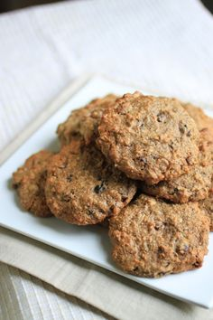 N'Oatmeal Cookies from Primal Palate #paleo