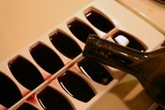 Genius! Tip: Freeze leftover wine for future use in casseroles and sauces.