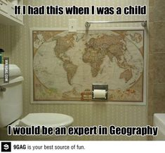 I would be an expert in geography