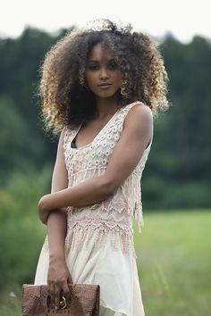 Exotic ethnic beauty: Photo