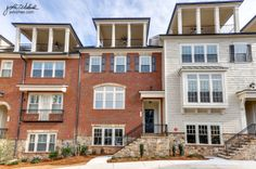 Four story townhomes with sky terrace, bonus room, and finished terrace level. The Bridgeport Townhomes | Paces Walk | Smyrna, GA