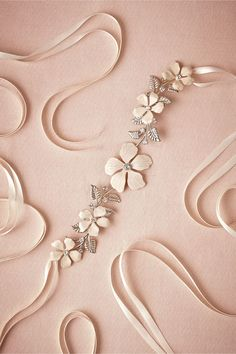 Petrea Sash in Shoes & Accessories Belts & Sashes at BHLDN