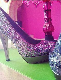 Sparkly heels ✨✨