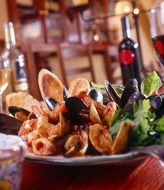 ZUPPA di COZZE e VONGOLE  Mussel and clam soup