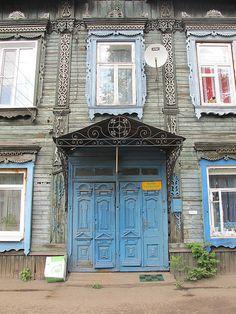 Blue in Irkutsk, Siberia, Russia ~