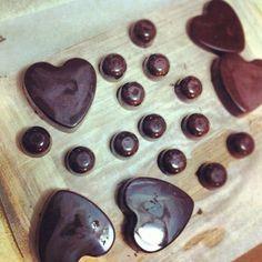 Homemade blood orange and pistachio dark chocolate @thecerealdiner