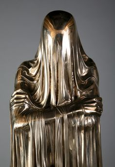 Veiled Sculptures by Kevin Francis Gray