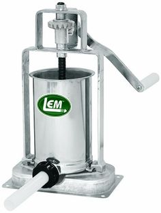 LEM Products 5 Pound Stainless Steel Vertical Sausage Stuffer  $143.99