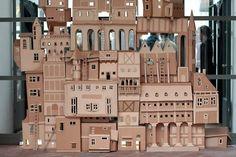 cardboard box mansion