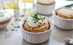 Three Bean Chili Pot Pies Easy Recipe ==> http://www.craftdiyideas.com/three-bean-chili-pot-pies-easy-recipe/