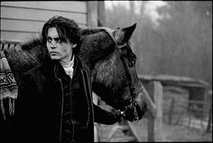 Johnny Depp on the set of Sleepy Hollow, by Mary Ellen Mark (found on the site every day i show)