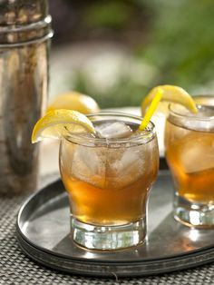 This Long Island Iced Tea will straighten your apron. From @Cooking Channel's collection of #MadMen inspired cocktails.