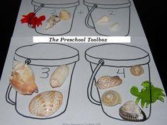 ocean life activities for preschoolers   Beach Theme Activities for Preschool!   The Preschool Toolbox Blog
