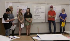 """High school students develop life skills and financial literacy in """"harsh reality"""" program. Hear about the program from leader Lily Boyar."""