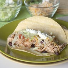 Slow Cooker Salsa Chicken# slow cooker healthy recipes: making this for dinner as we speak!