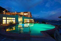 dream pools, honeymoon destinations, pool designs, lake garda, hotel, italy, natural beauty, lefay resort, spa