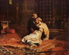 Ivan the Terrible And His Son - Ilya Repin