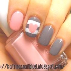 Cute nails that are easy to do!