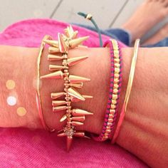 New Neon Wrap Bracelets - Add a pop of color to your Arm Party http://www.stelladot.com/Randimanning