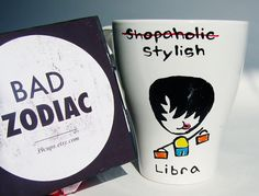 Funny Mug / Libra Zodiac Mug / Rude / Cuppa by 39Cups on Etsy, $14.95