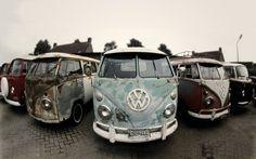 Old VW Transporter vans 2 by ~Sjoewe
