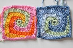 a new dimension of granny squares