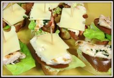Spanish Tapas: montaditos. These little bites are sooo good and are perfect for parties! Living De Tapas