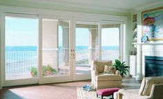 Anderson 400 Series Frenchwood Gliding Patio Door