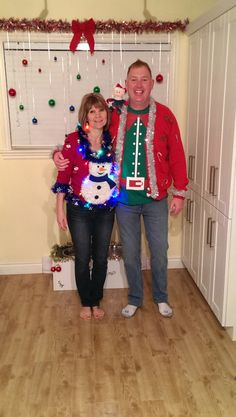 Ugly Christmas Sweaters 2013