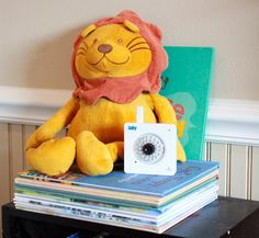 WiFi Baby, lion.  Shown without stand.